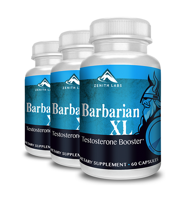Zenith Labs Barbarian XL Review - All-Natural Testosterone Support Forever