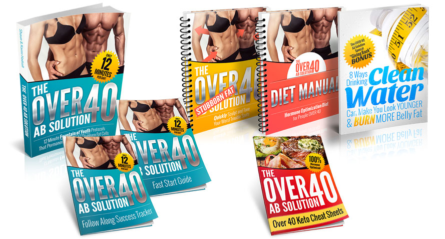 The OVER 40 Ab Solution Manual - Easy Way To Burn Belly Fat