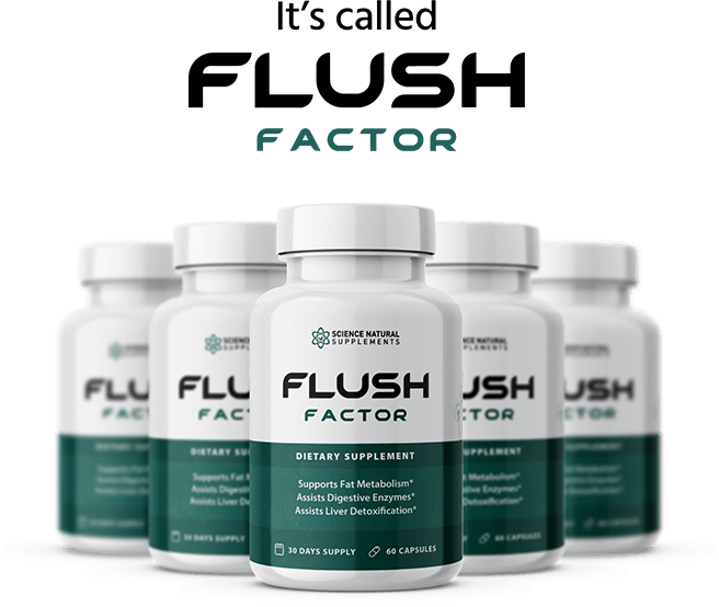 Science Natural Supplements Flush Factor Diet Capsules