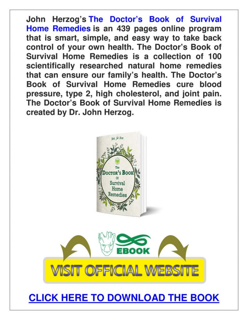 The Doctor's Book Of Survival Home Remedies Book Reviews