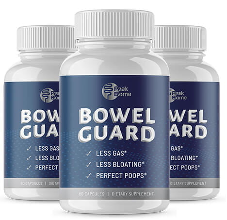 Peak BioMe Bowel Guard Supplement - An Effective Way to Get Rid of Gas!
