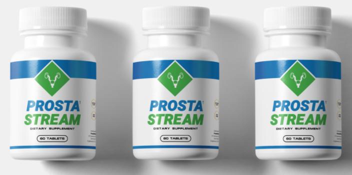 ProstaStream Pills - All-Natural & Proven Prostate Supplement