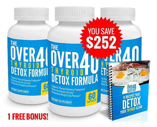 The OVER 40 Thyroid Detox Formula Review