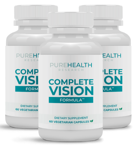 PureHealth Reserch Complete Vision Formula Review