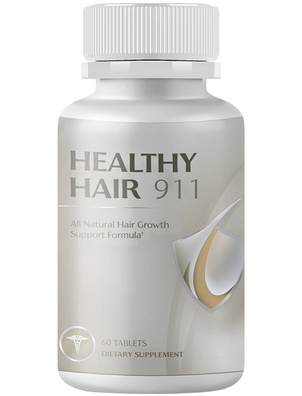 Healthy Hair 911 Dietary Supplement 2021 - Healthy Hair Growth Support