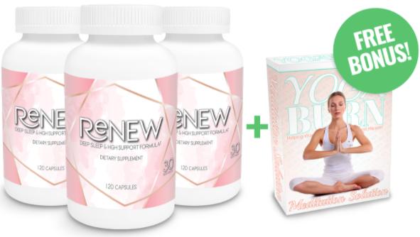 Yoga Burn Renew Supplement Ingredients