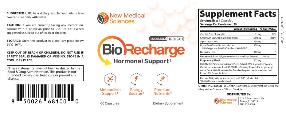 BioRecharge Dietary Supplement