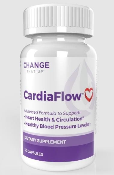 CardiaFlow Cardiovascular Disease Support Formula