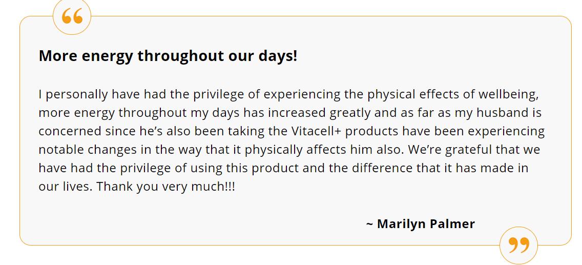 Vitalifi VitaCell Plus Supplement Reviews