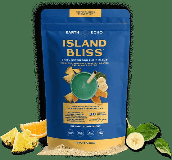 Earth Echo Island Bliss Ingredients